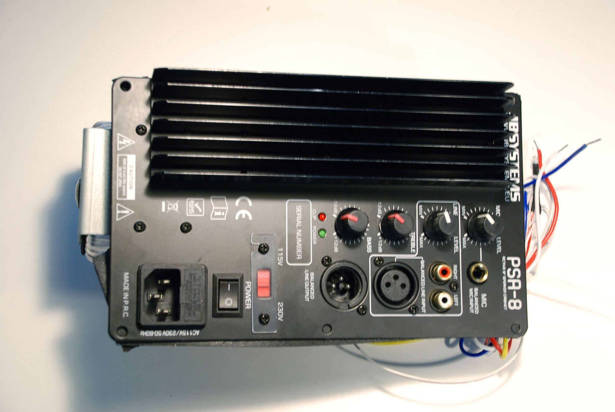 jbsystems pcb complete amplifier psa 08. Black Bedroom Furniture Sets. Home Design Ideas