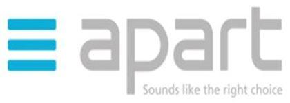 Εικονίδιο κατασκευαστή APART AUDIO