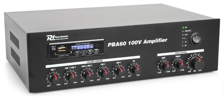 POWER DYNAMICS PBA60 ΕΝΙΣΧΥΤΗΣ 100V   Ενισχυτές  2b1c12dd9fb
