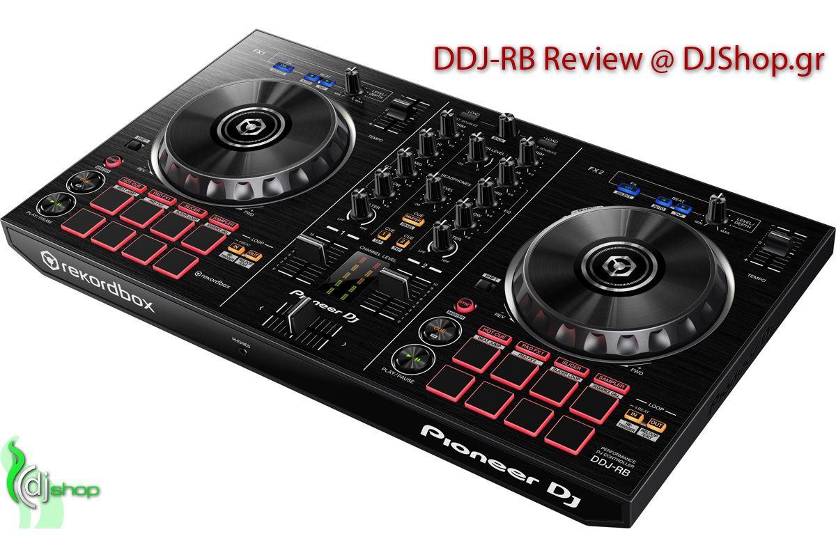 Εικόνα για την κατηγορία Review: Pioneer DDJ-RB Rekordbox DJ Controller