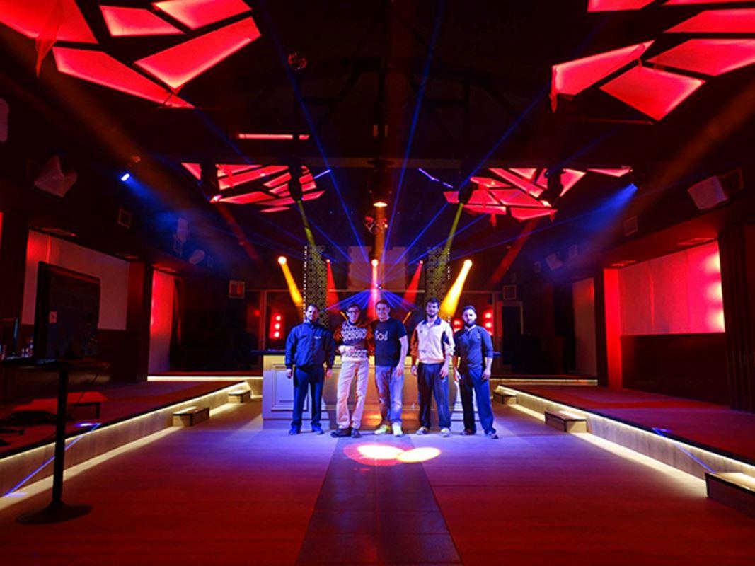 Εικόνα για την κατηγορία Μελέτη δυναμικού και αρχιτεκτονικού φωτισμού στο LUV' Club.
