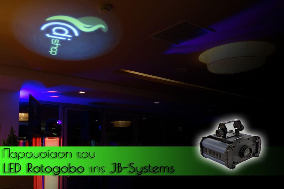 Εικόνα για την κατηγορία Gobo projector από την JB-Systems: LED ROTOGOBO