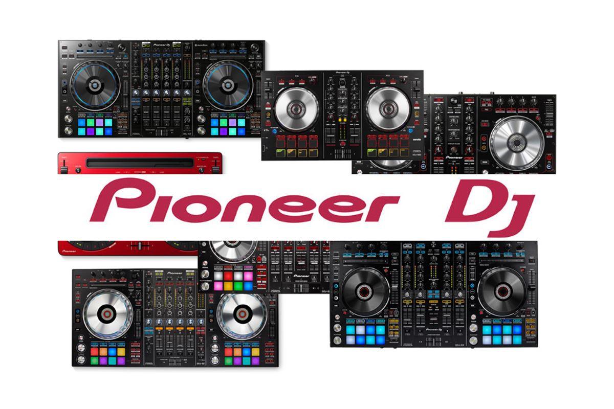 Εικόνα για την κατηγορία PIONEER dj midi controllers buying guide