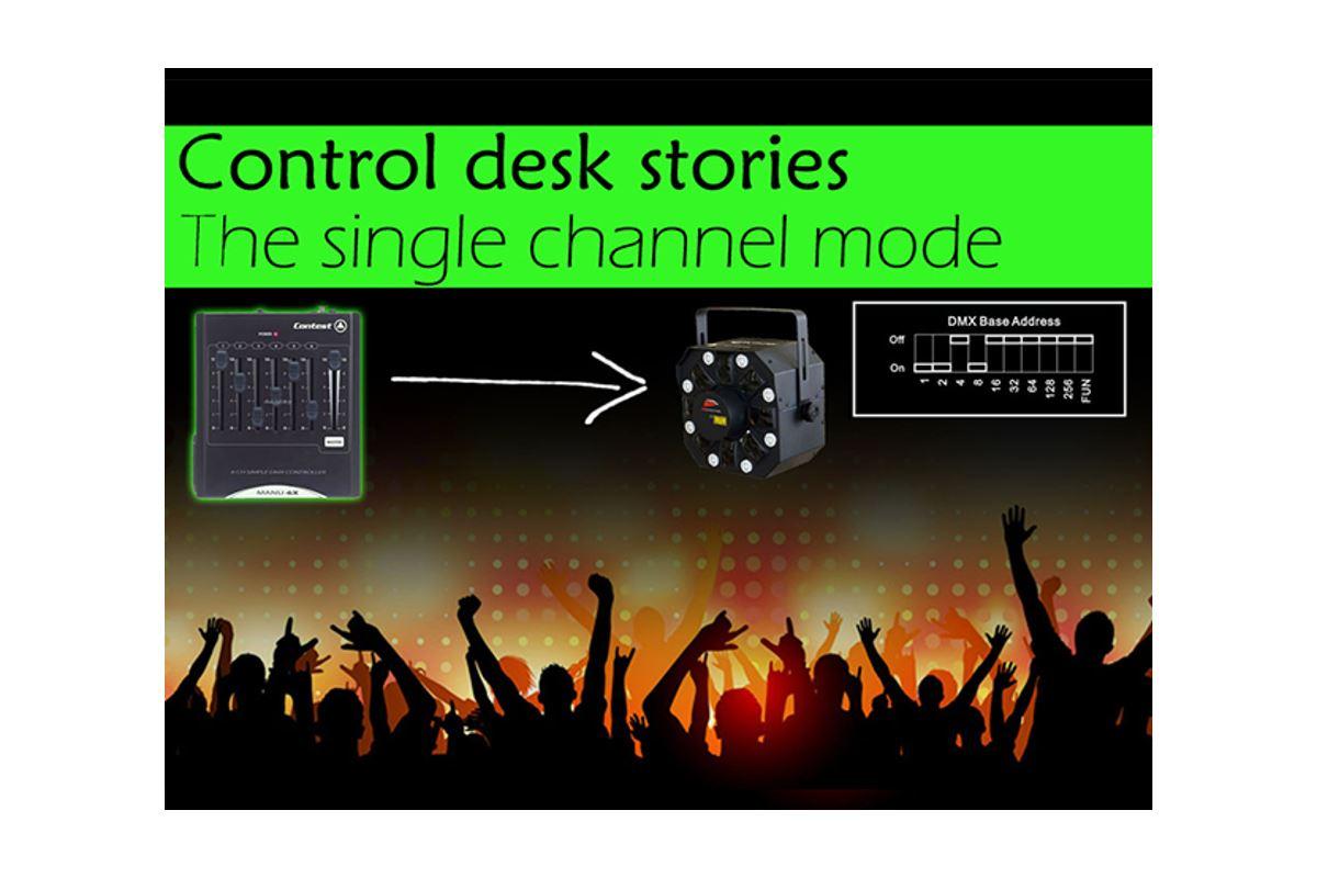 Εικόνα για την κατηγορία Control Desk stories: The single channel mode