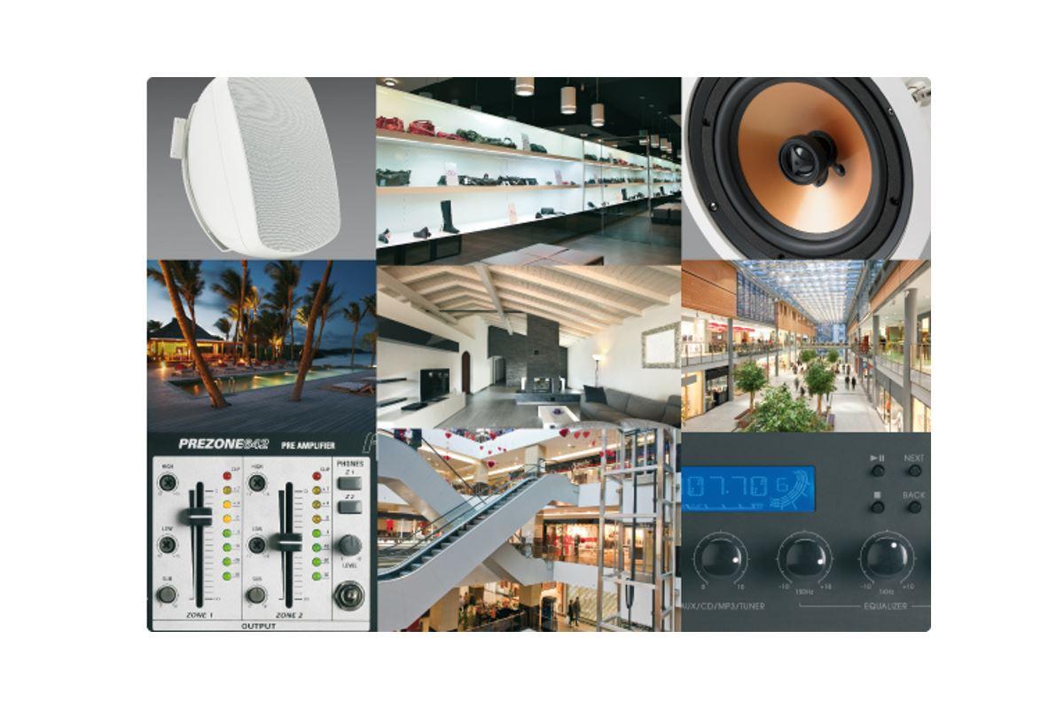 Εικόνα για την κατηγορία Ηχητικά Συστήματα 100V Ποικίλων Εφαρμογών