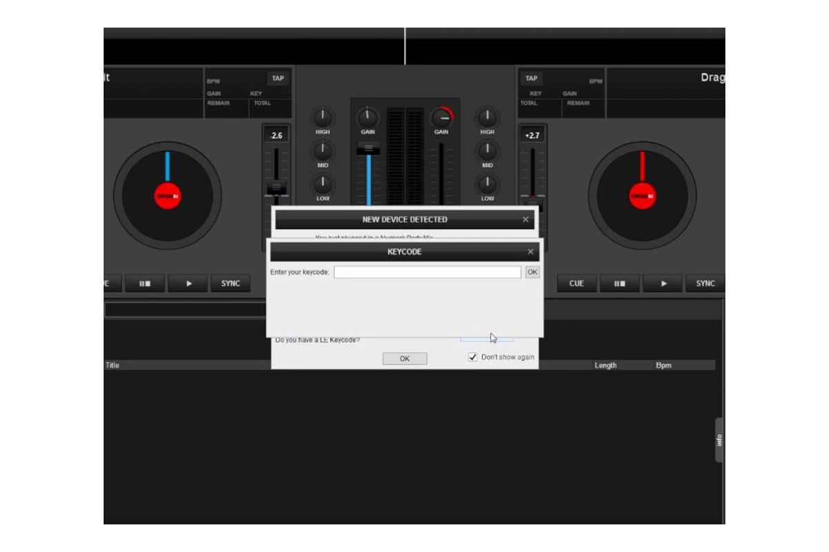 Εικόνα για την κατηγορία Numark Party Mix – Κατέβασμα και εγκατάσταση του Virtual DJ LE