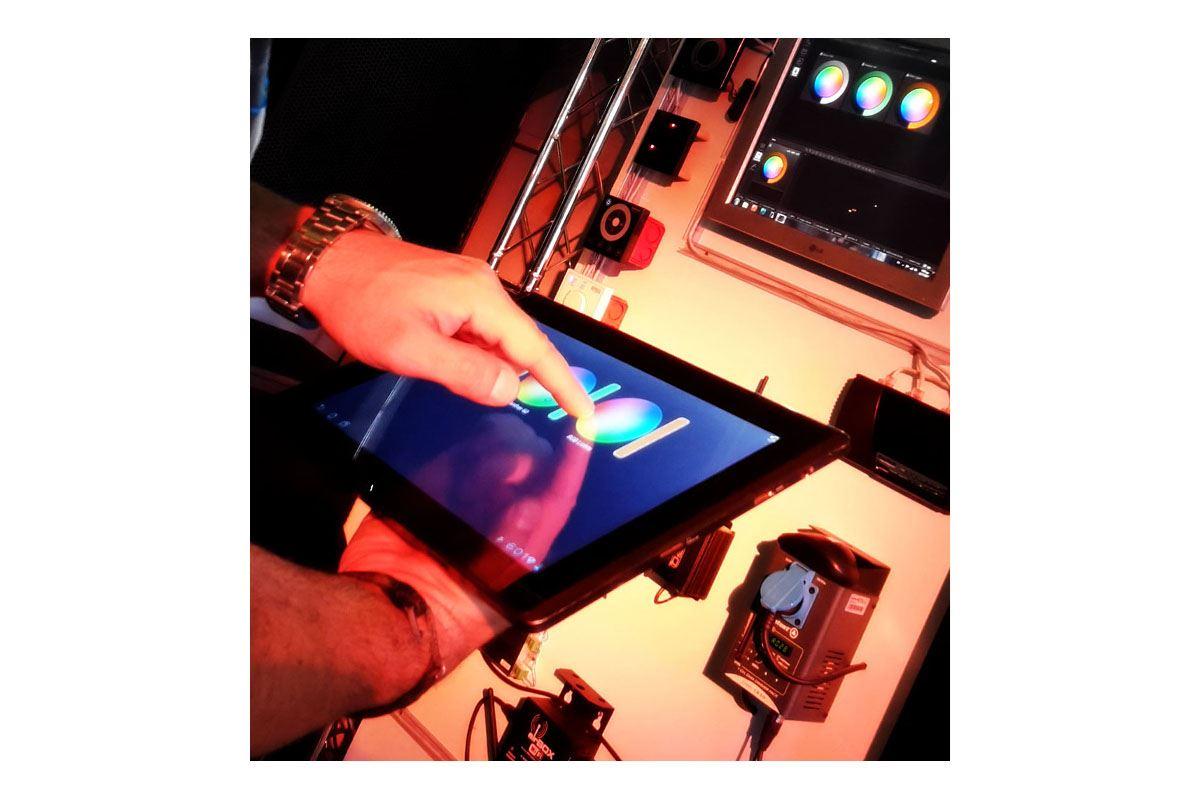 Εικόνα για την κατηγορία Έλεγχος φωτισμού με Tablet / Smartphone μέσω Daslight 4
