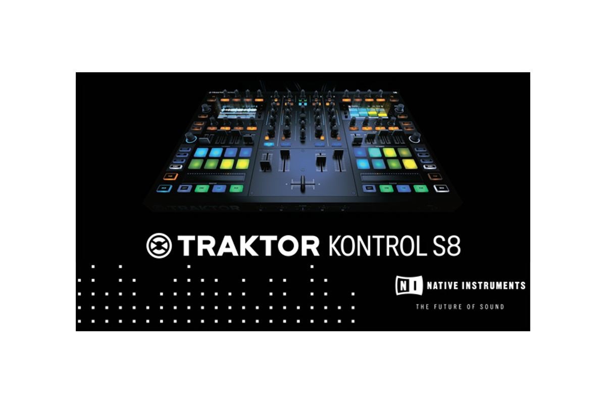 Εικόνα για την κατηγορία Η NI καινοτομεί με το TRAKTOR KONTROL S8