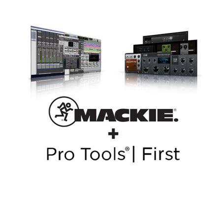 Εικόνα για την κατηγορία Με αγορές MACKIE, παίρνετε δωρεάν Pro Tools First & Musician Collection Bundle.