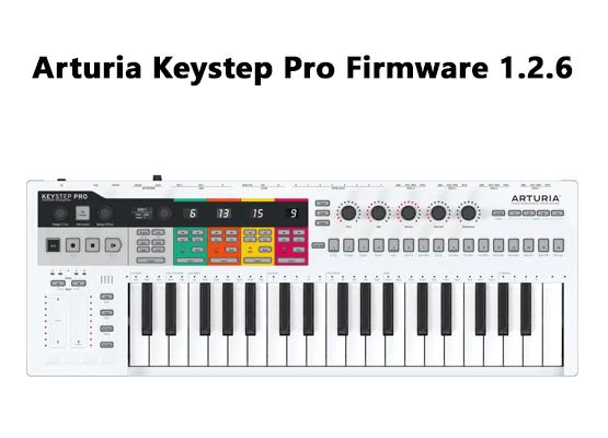 Εικόνα για την κατηγορία Arturia Keystep Pro Firmware 1.2.6