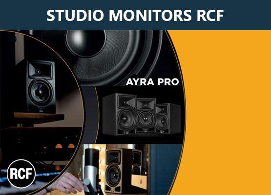 Εικόνα για την κατηγορία RCF Ayra ηχεία Studio Monitor