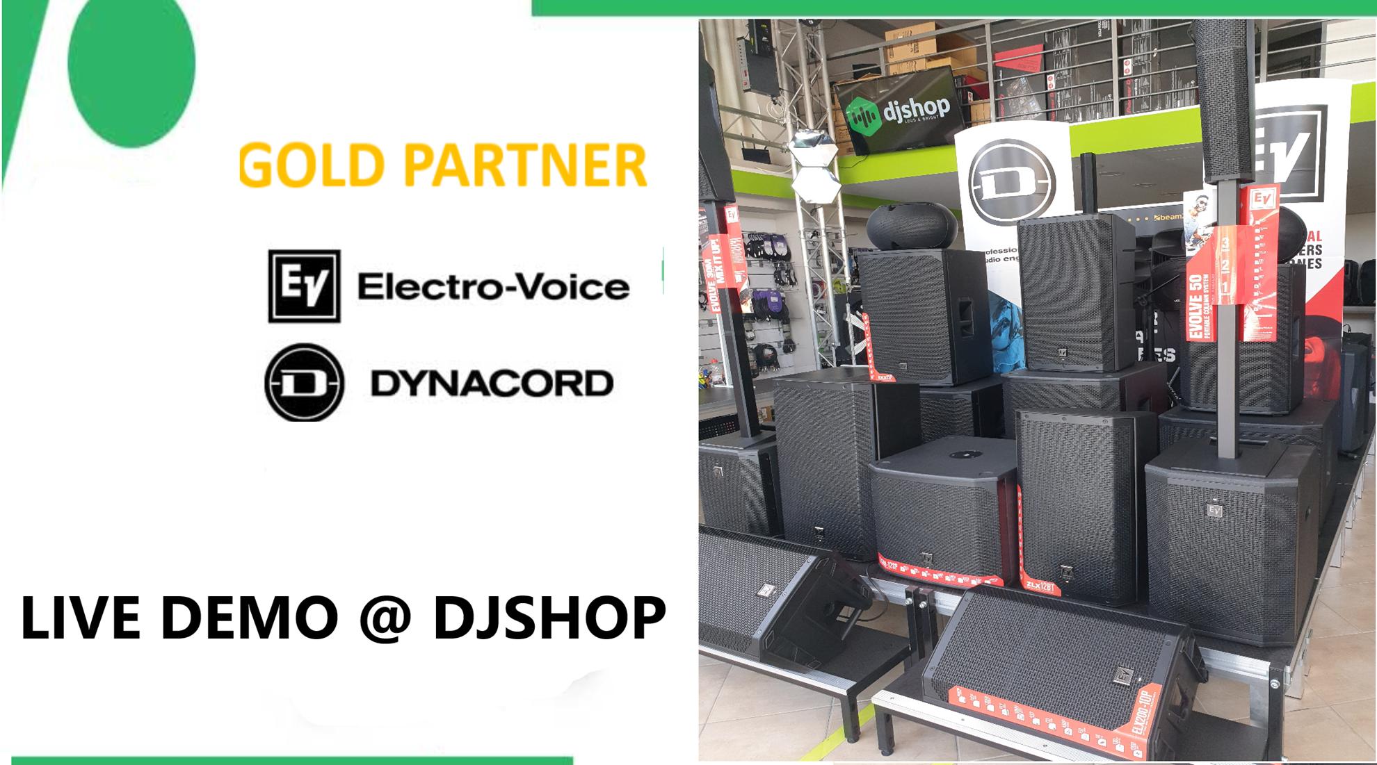 Εικόνα για την κατηγορία EV & Dynacord Gold Partner live demo @djshop!
