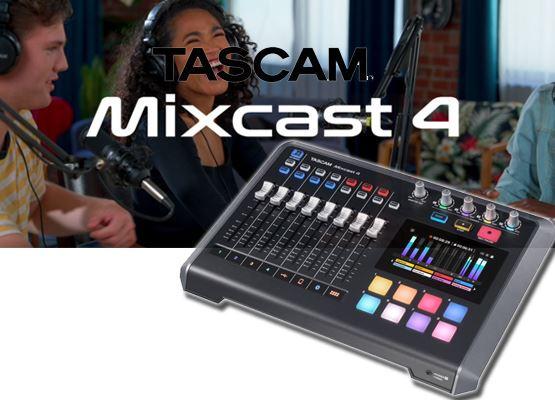 Εικόνα για την κατηγορία MIXCAST 4  σταθμός podcast από την Tascam.