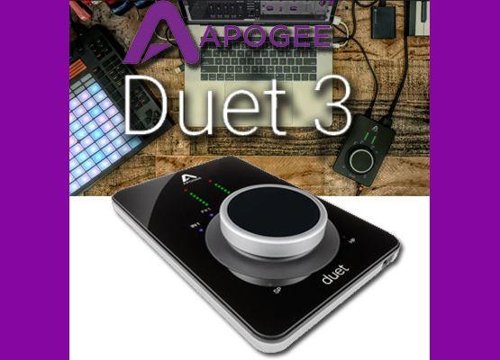 Εικόνα για την κατηγορία DUET 3 - Κάρτα ήχου από την Apogee.